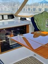 Cockpit Teak Table