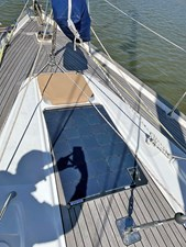 Foredeck with Solar Panel