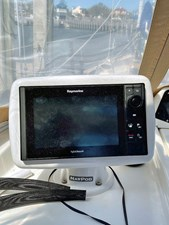 Raymarine eS Series-9 under Dodger