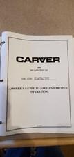32 THO Carver 380 Manual 1