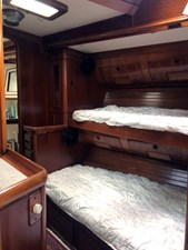 BLUE STAR 8 Stbd. Fwd. Stateroom, Looking Fwd.