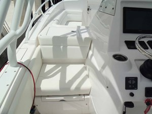 Aft Facing Console Seat