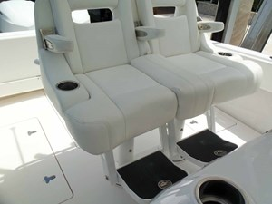 Double Electric Pompanette Helm Seat