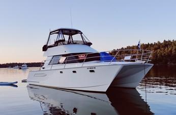 ISHI PISHI 0 ISHI PISHI 1997 ROGER HILL POWERCAT 11.2m Catamaran Yacht MLS #270634 0