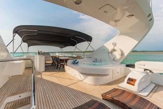 MIA KAI  27 MIA KAI Bilgin Tiago 100 - Best in class flybridge with covered dining, Jacuzzi and bar.