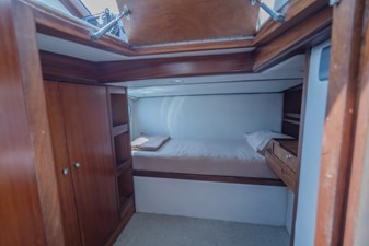 MIA KAI  52 MIA KAI Bilgin Tiago 100 - Dedicated captain's cabin.