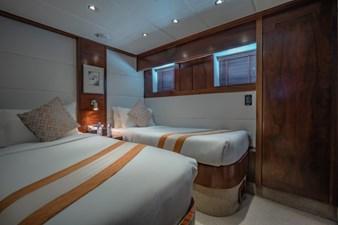 MIA KAI  56 MIA KAI Bilgin Tiago 100 - Starboard Twin cabin with ensuite.