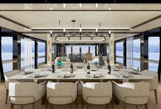 ARCADIA A115 17 Arcadia_A115_06_ 34.99m_115ft_2022_main_deck_salon_view_on_the_sea