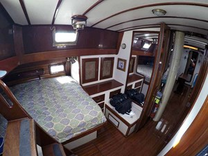 NARWHAL 7 Aft Cabin, Looking Fwd.