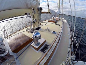 NARWHAL 16 Cabin Top, Looking Fwd.