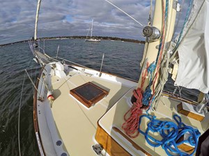 NARWHAL 14 Foredeck