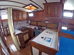 NARWHAL 10 Galley, Looking Aft