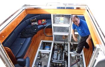Main Salon Engine Access
