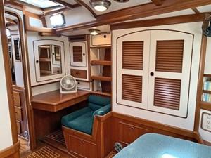 MISTY 16 Owner's Cabin Vanity and Storage