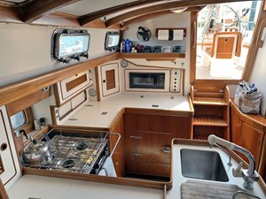 MISTY 26 Galley, Looking Aft
