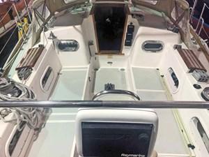 SQUANDO 38 Cockpit