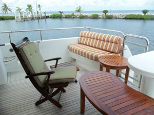 OHANA 62 Aft Deck to Starboard