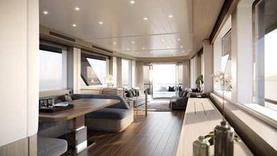 AF 8 BENETTI 26D - Design Luca Catino - Salon (front view)