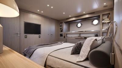 AF 9 BENETTI 26D - Design Luca Catino - Owner cabin