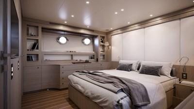 AF 10 BENETTI 26D - Design Luca Catino - Owner cabin (2)