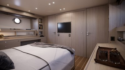 AF 11 BENETTI 26D - Design Luca Catino - Owner cabin (3)
