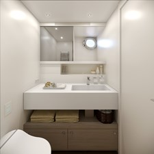 AF 19 BENETTI 26D - Design Luca Catino - Guests cabin en-suite