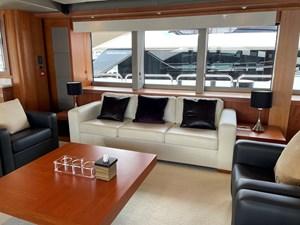 Sunseeker 115 Sport 3 Port SIde Sofa