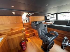 Sunseeker 115 Sport 18 Wheelhouse to Flybridge