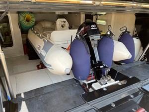 Sunseeker 115 Sport 34 Tender Garage