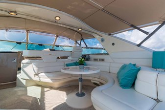 Starboard Side Cockpit Settee