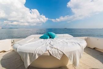 Sun Lounge with Crew Area Below