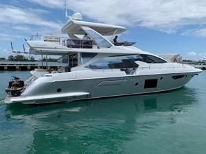 Amalfi 7 Amalfi 2018 AZIMUT YACHTS Flybridge Motor Yacht Yacht MLS #270937 7