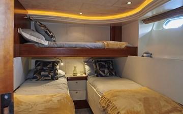 Triple berth cabin