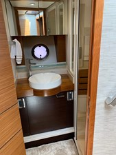 SOL MATE 44 Guest Head Sink and Cabinet