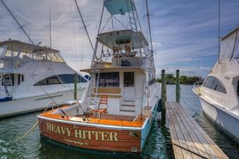 Heavy Hitter 2 Heavy Hitter 1990 VIKING Convertible Sport Yacht Yacht MLS #270957 2