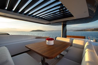 Dining area on fly