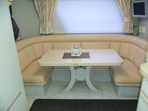 GAS PASSER 8 Galley Dining Looking Starboard