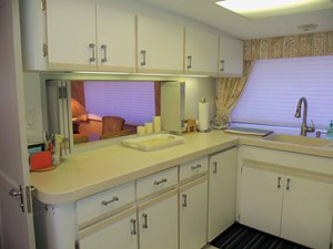 GAS PASSER 11 Galley Looking Aft