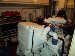 GAS PASSER 75 Starboard Engine Room