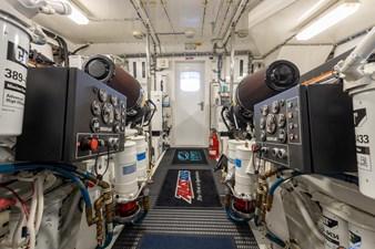TAZ 51 Engine Room