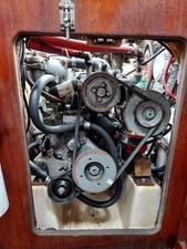 Slainte 39 071Slainte Engine Compartment