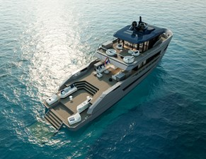LYNX YACHTS ORION LOA 29.50 2024 Exterior_Rendering_02