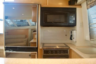 Galley with built-in Coffee Pot