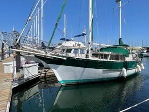 Feral Soul 1 Feral Soul 1978 ISLANDER SAILBOATS Freepoort 41 Cruising Sailboat Yacht MLS #271078 1