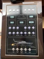 Fairline Squadron 65 28 Helm Control Switch Board