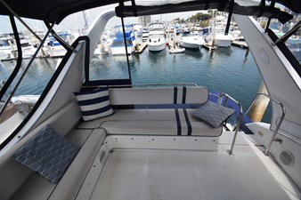 YOU AND ME 21 Flybridge Looking Aft