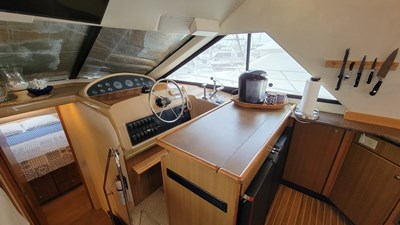 YOU AND ME 2 Lower Helm and Galley