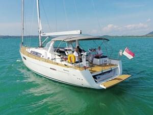 Aquavit VI 4 Beneteau Oceanis 60 for Sale - sailing
