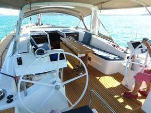 Aquavit VI 5  Beneteau Oceanis 60 for Sale - cockpit