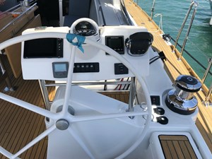 Aquavit VI 6  Beneteau Oceanis 60 for Sale - cockpit